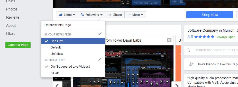 Tokyo Dawn Labs Facebook Page